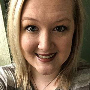 2018 dietspotlight scholarship winner ashley lang, she has blonde hair up to her shoulders