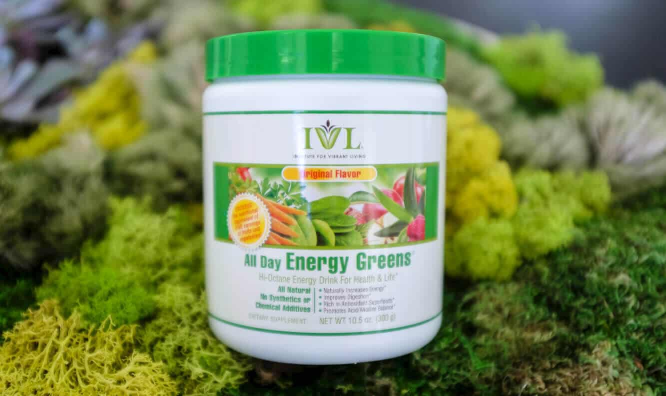 All Day Energy Greens Ingredients
