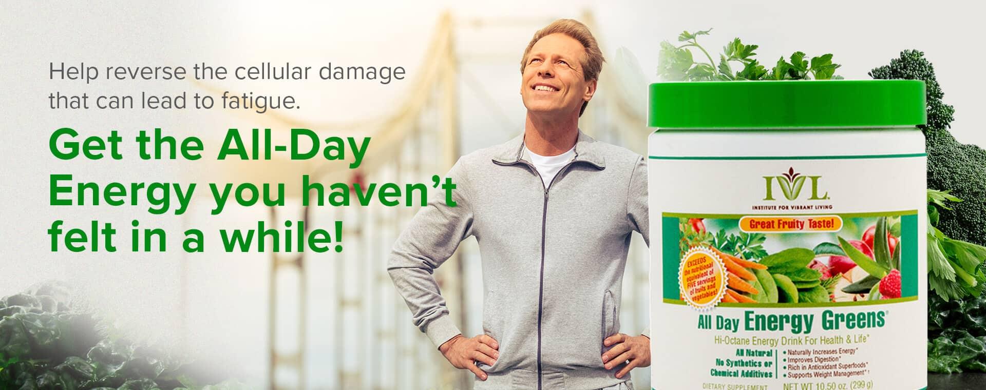 All Day Energy Greens Customer Testimonials