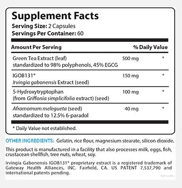 biotrust nutrition leptiburn label
