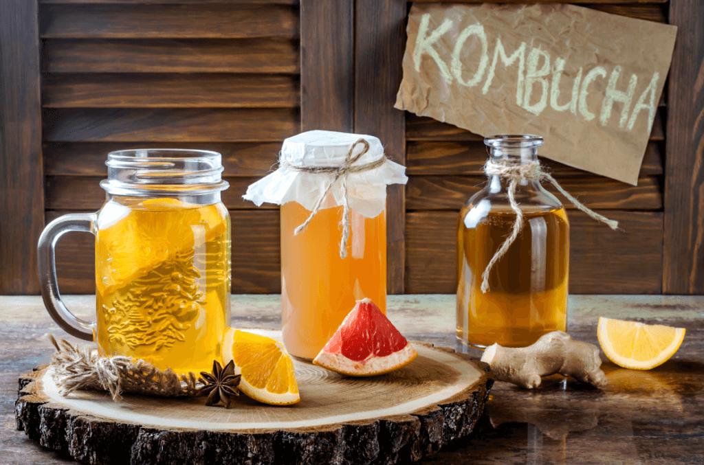 Bio K Plus Alternatives - Kombucha