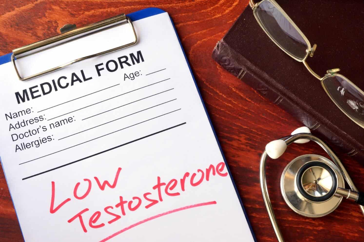 Performix Super Male T and testosterone levels