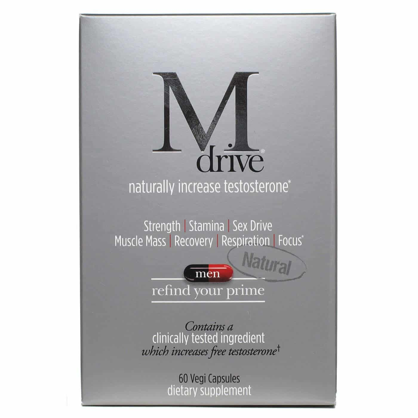 M Drive Ingredients