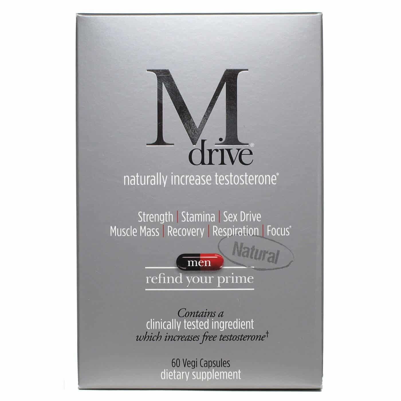 M Drive Ingredients