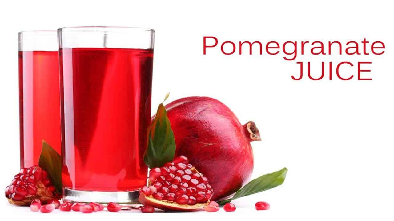 Pomegranate Juice Fast