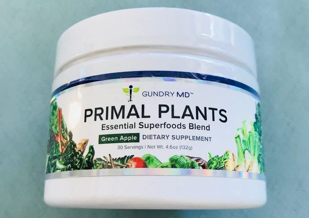 Primal Plants Ingredients