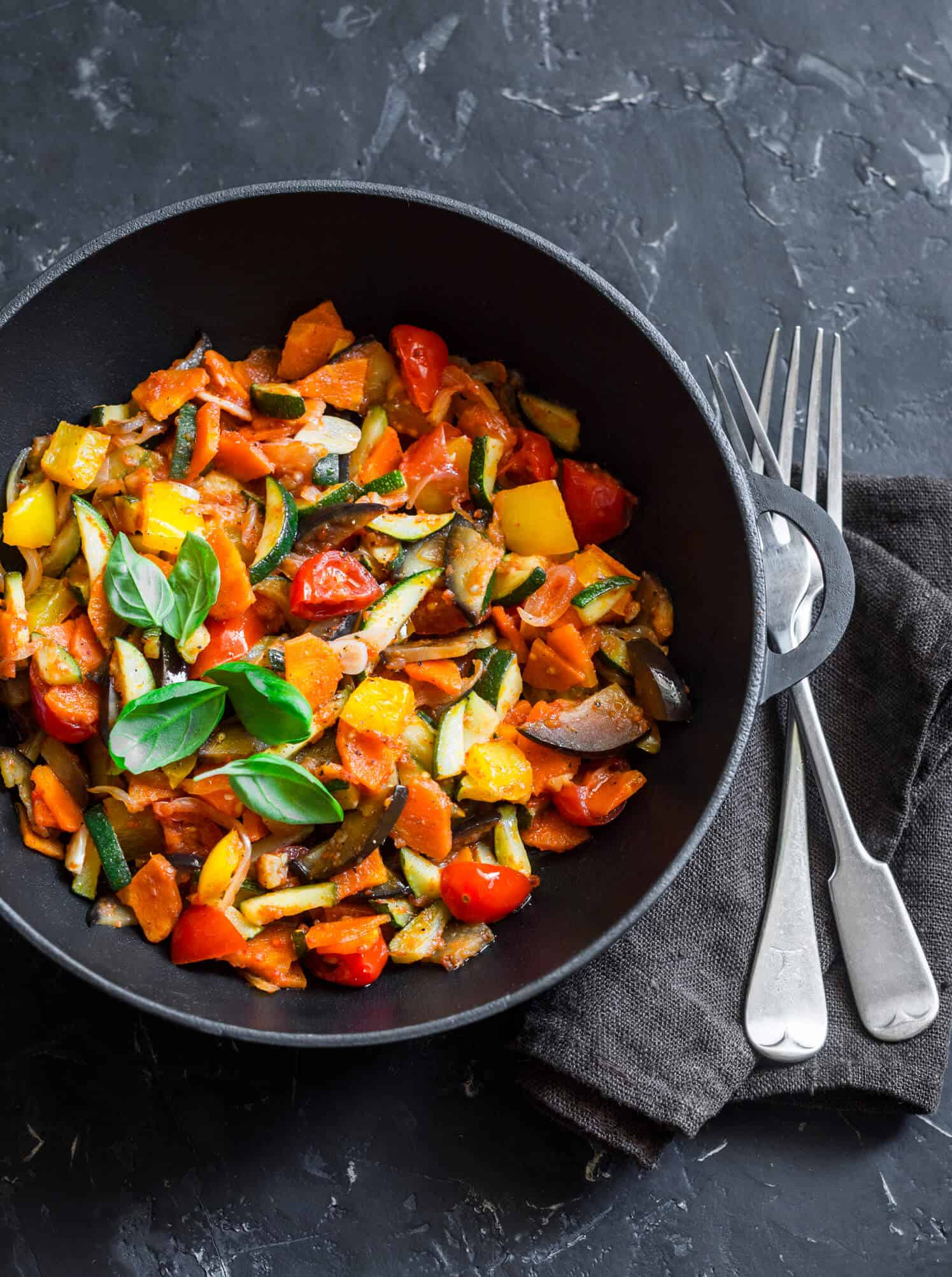 Spicy Vegetable Skillet