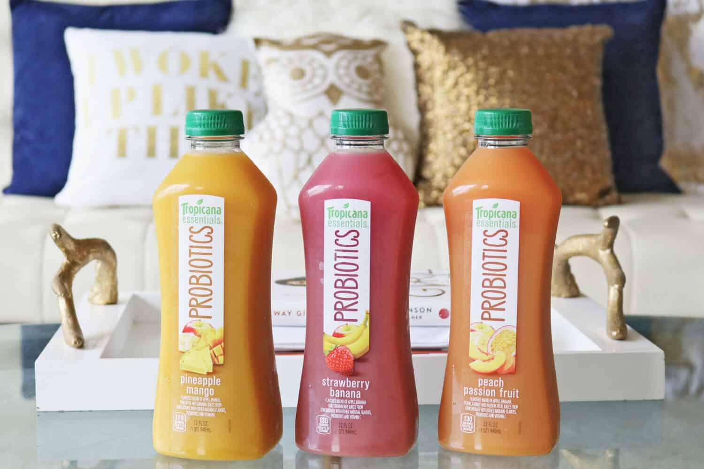 Tropicana Essentials Probiotics Customer Testimonials