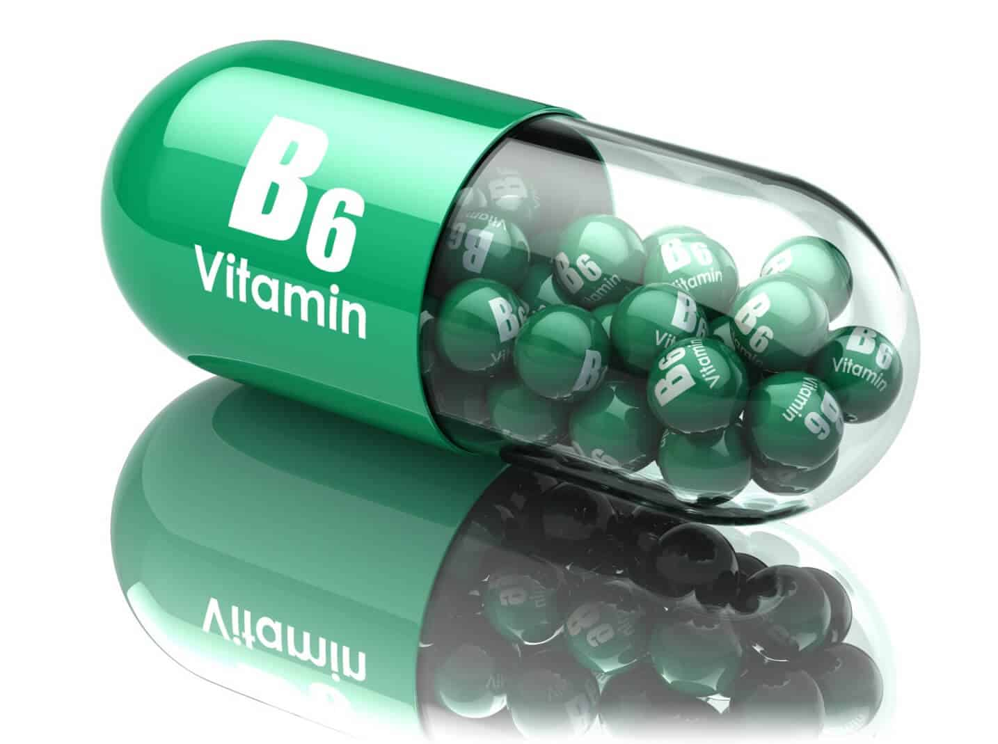 Ageless Male Max ingredients - vitamin B6