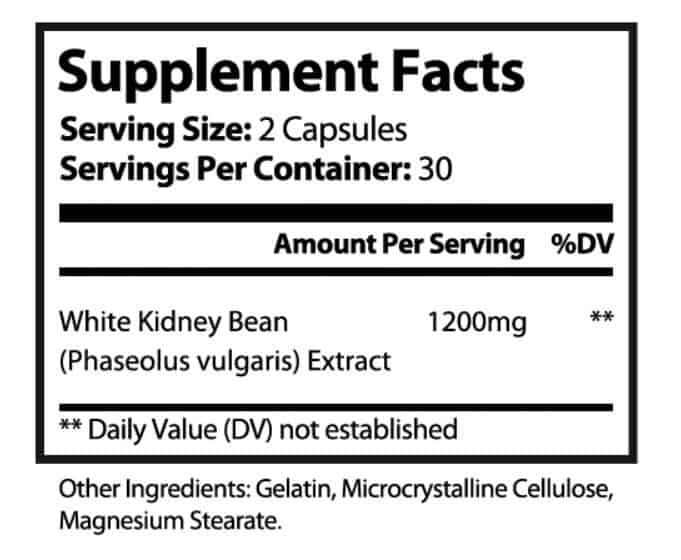 White Kidney Bean Supplements