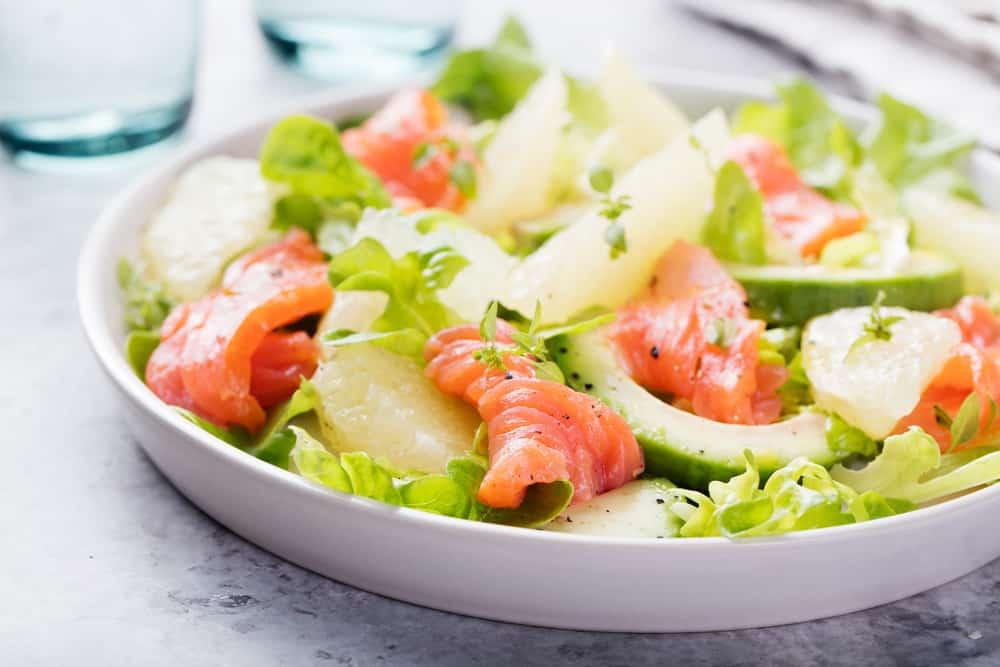 Avocado Grapefuit Salmon