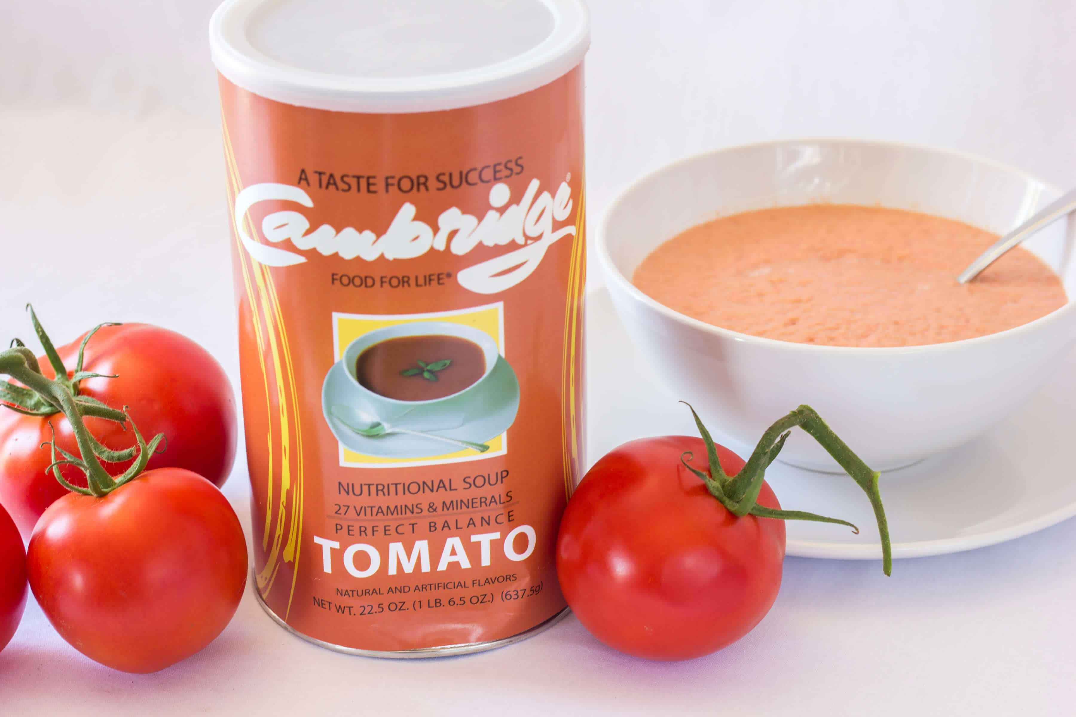 cambridge diet soup