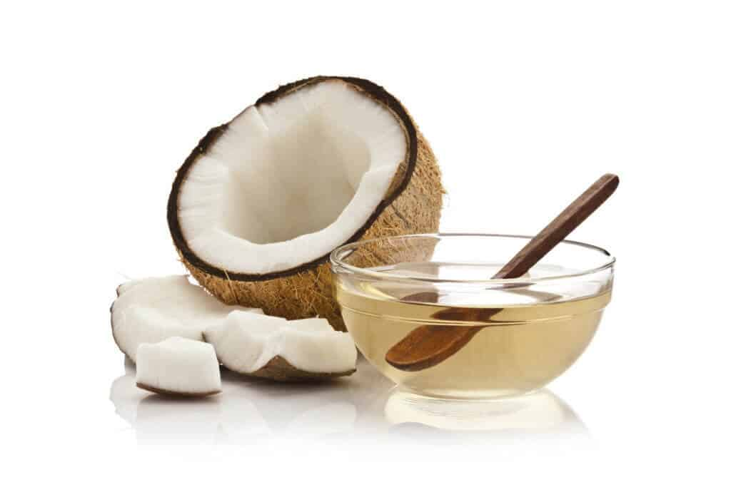 coconut oil weight loss success