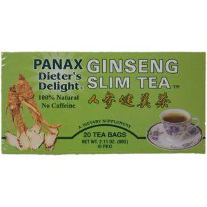 Diet Ginseng Slim Tea Review