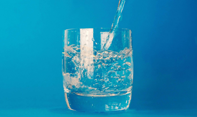 plexus block take with water