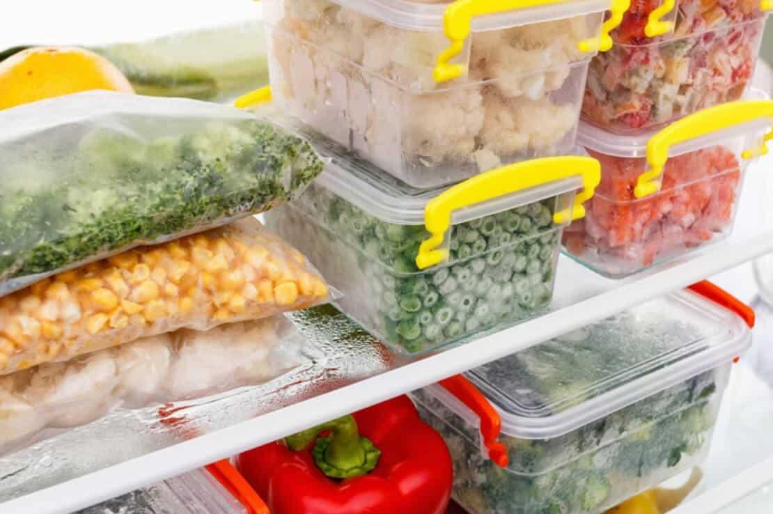 Eliminate food storage.