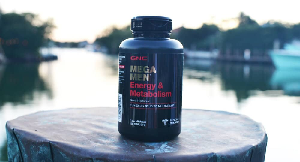 GNC Mega Men Energy And Metabolism Ingredients