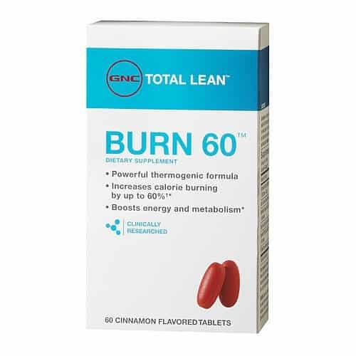 gnc burn 60 review weight loss