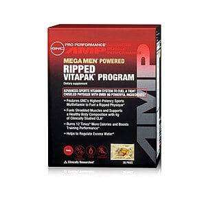 GNC Pro Performance AMP Ripped Vitapak Review