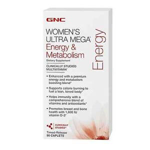 GNC Women's Ultra Mega Energy And Metabolism Review