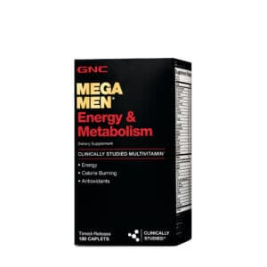 GNC Mega Men Energy And Metabolism Review