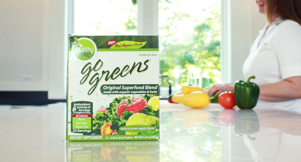 Greens To Go Ingredients