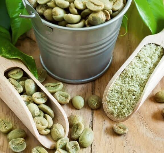 How much green coffee bean extract?