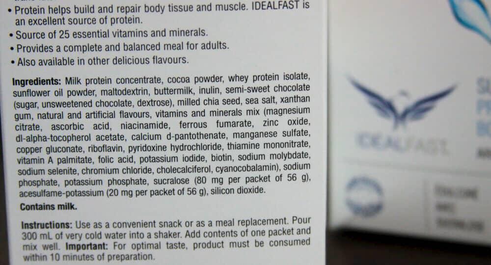 Ideal Protein Ingredients