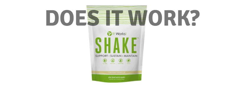 it works shake does it work