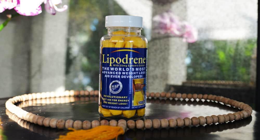Diet pill lipodrene