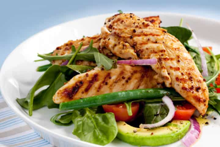 Low carb meals easy to make.