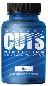 Max Muscle Quadra Cuts Night Time Review