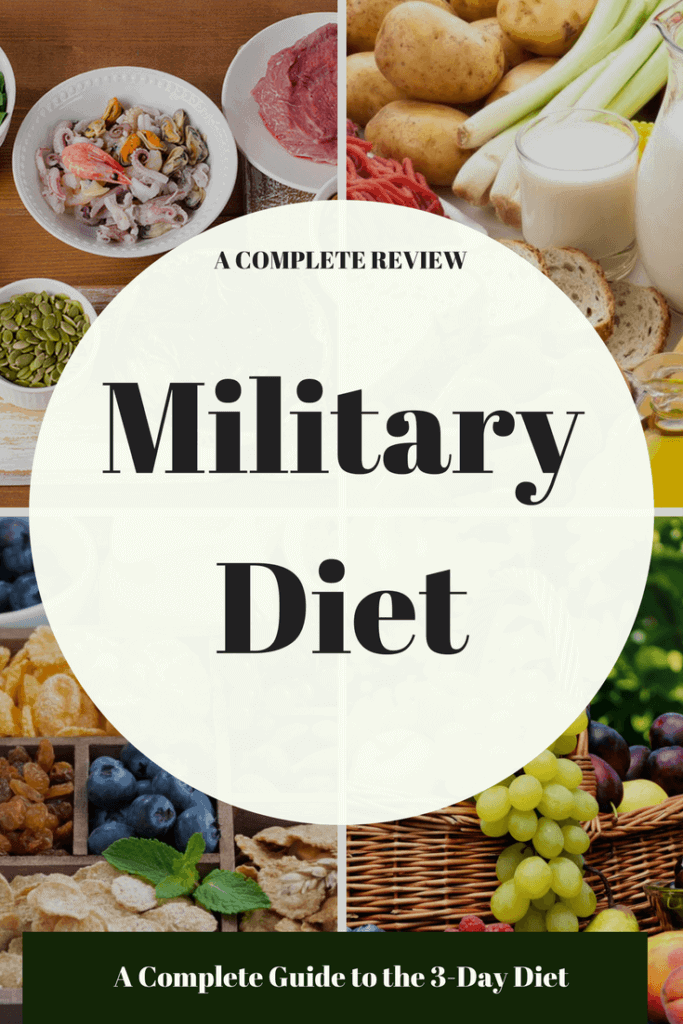 can i take supplements on the military diet