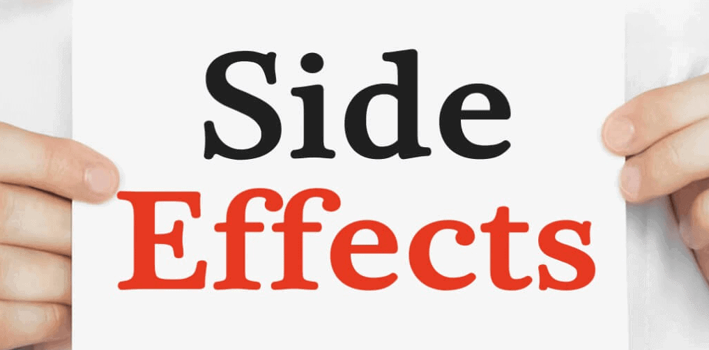 modere burn side effects