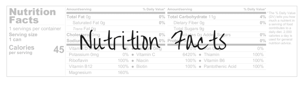 performix sst nutrition facts