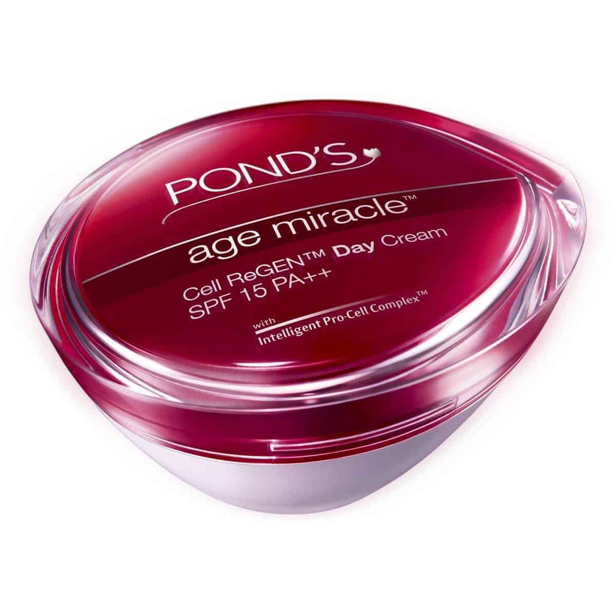 Ponds age miracle review for Ponds products