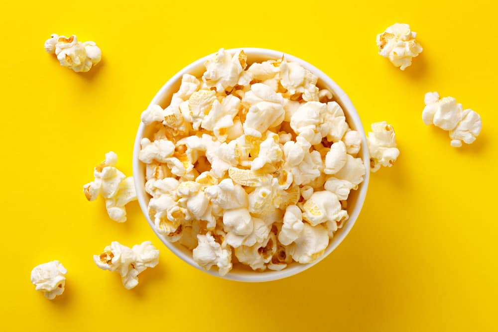 Popcorn As a Snack