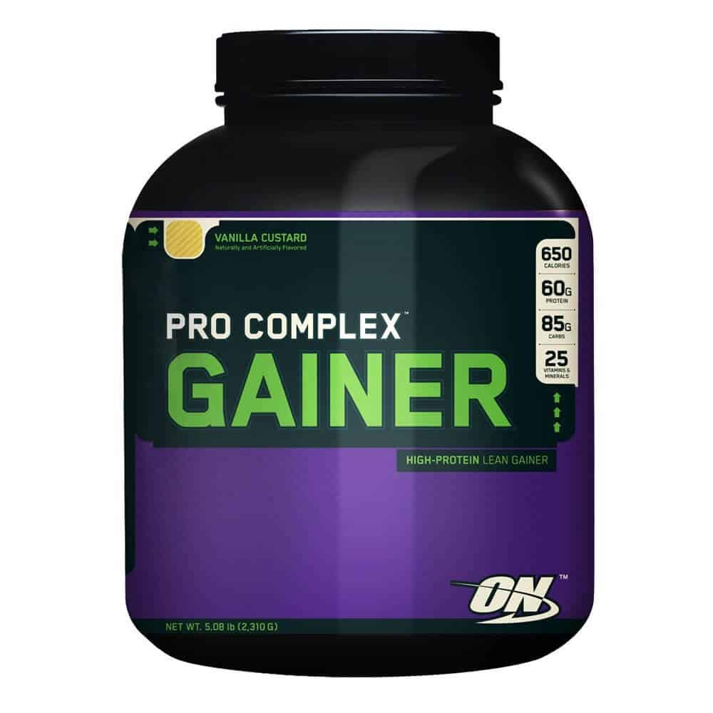 How to take pro complex gainer