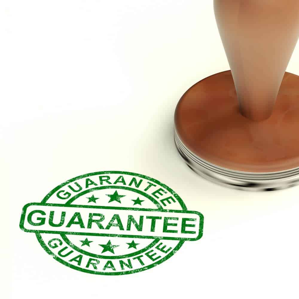 Risk-Free, Money-Back Guarantee
