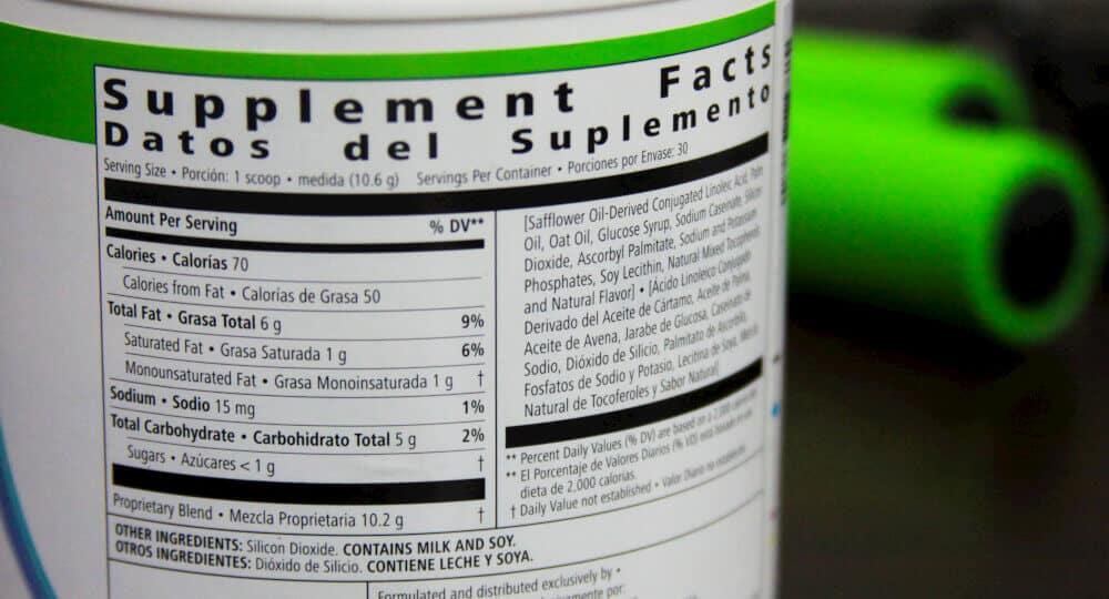 Prolessa Duo Ingredients