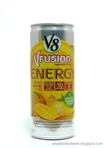 V8 Fusion Energy Drink Review