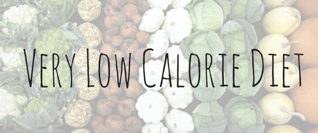 hcg pellets very low calorie diet