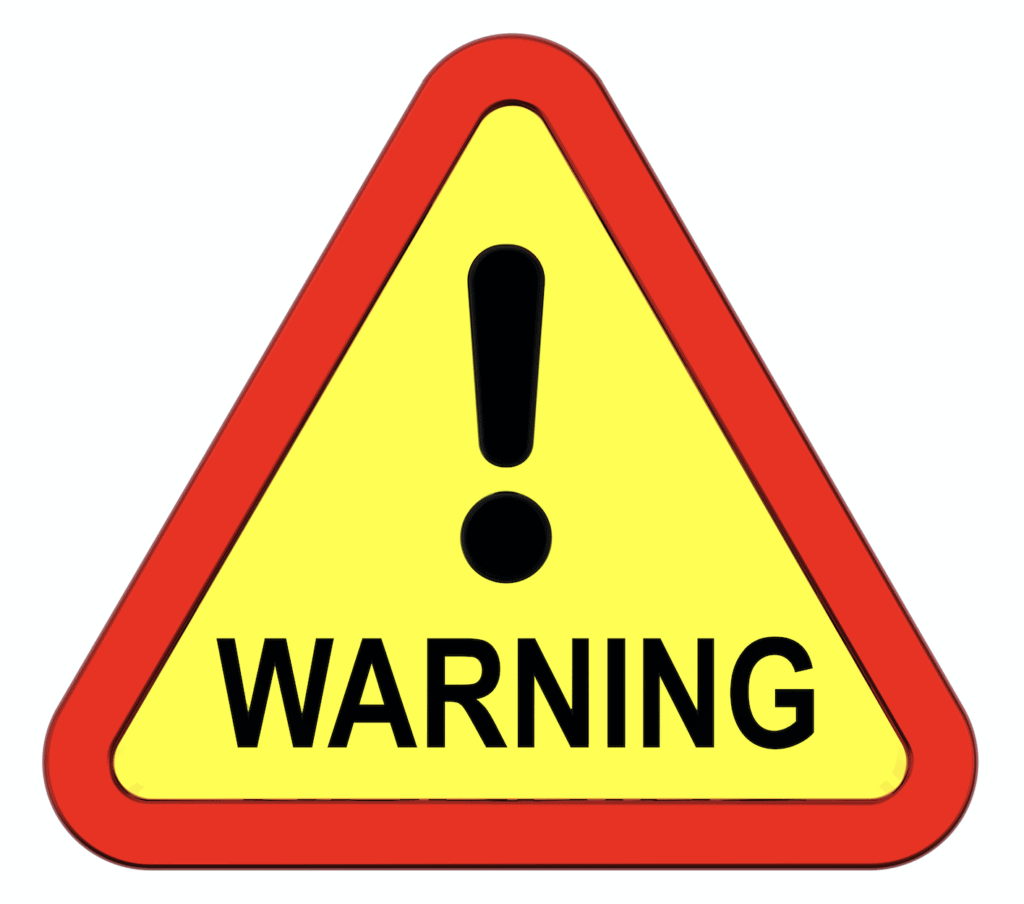 IntraMAX warnings
