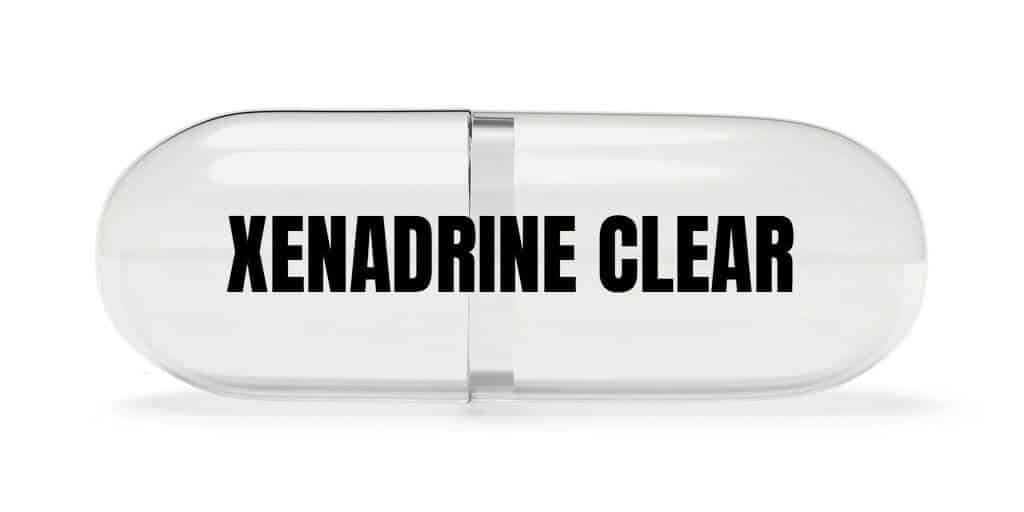 what is xenadrine clear