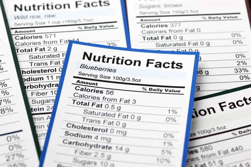 Zipfizz Nutrition Labels